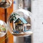 [adico] DIY미니어처 볼 - 해변의 작은집_(90580)