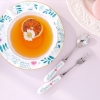 [Disney]Alice_Tea Spoon & Fork set