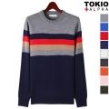 Select Stripe Knit Tee
