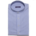 TAILORED SEERSUCKER BLUE SHIRTS premium ��ư100 /���� �������