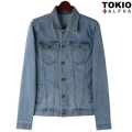 Cloudy Denim Jacket