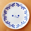 Blue Narcissus 'Eat Me' Plate