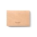 Fennec triple wallet - 001 brown