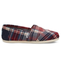 RED NAVY PLAID CLASSICS (W)