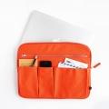 Canvas laptop sleeve