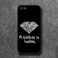 'MIKA' Diamond Paisely Black Case