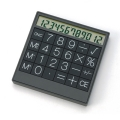 [tradeworks]Top Solar Calculator Black/White(ts0311)