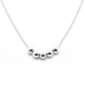SilverBeads Necklace