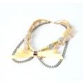 Yellow Ribbon Collar Necklace