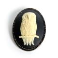 British Owl Brooch also Necklace