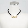 [�۸����س��]3 Pearl lips necklace