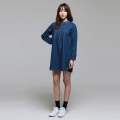 Julie Denim Dress