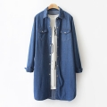 Jean Long SHIRT DRESS