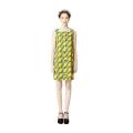 Baeja H-line Dress (Kitenge Yellow)