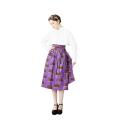 Hanbok Wrap Skirt (Purple)
