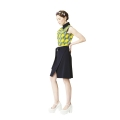 Hanbok Collar Wrap Dress (Kitenge Yellow)