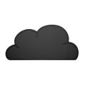 Cloud Table Mat - Black (������Ʈ �?)
