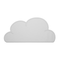 Cloud Table Mat - Grey (������Ʈ ����)