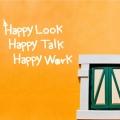 1AM Ķ������ ���� ��ƼĿ - Happy Look Talk Work