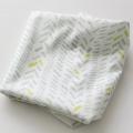 Stamp Lime Knit pattern cotton