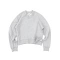 Chunky Neckline Crop Sweatshirts Woman