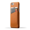 Leather Wallet Case for iPhone 6 - Tan