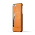 Leather Wallet Case 80�� for iPhone 6 Plus - Tan