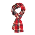 Red Check_Scarf