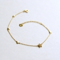 14k gold starlight bracelet