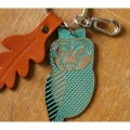 LEAF AND OWL KEY HOLDER ver.1