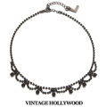 [Signature Line]Black Lace Necklace