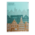 3 Pocket Clear Folder A5 - Townscape