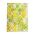 3 Pocket Clear Folder A5 - Lemons