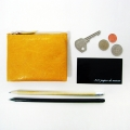 MINN CARD CASE & PURSE_yellow