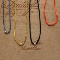 Rattail colorful necklace