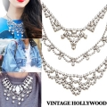 [3Style]Crystal Lace Necklace