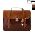Secret Leather Satchel Bag