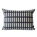 Enjoy Peace Cushion �������ǽ����[35x50][Deepgrey / Ivorywhite]