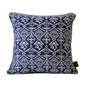 Jacquard Loom Cushion ��ī�� �� ��� [Navy]