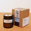 Brown Light candle-musk