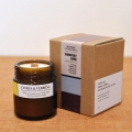 Brown Light candle-CITRUS&BERVENA