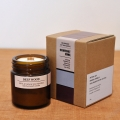 Brown Light candle-DEEP WOOD