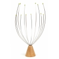 Wooden Standing Head Massager