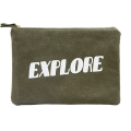 Explore Zipper Pouch �ͽ��÷ξ� ���� �Ŀ�ġ