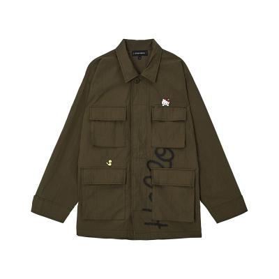 [Hello Kitty] BDU Jacket(Khaki)_(528994)