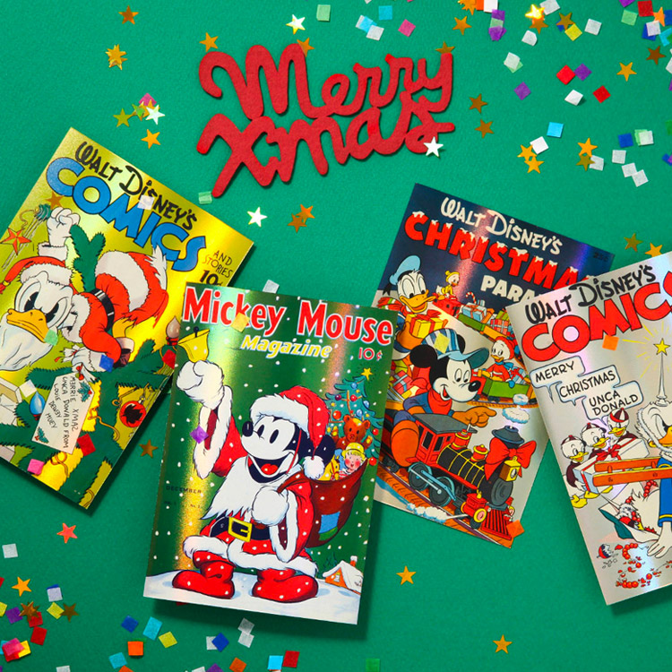 [Disney]Christmas_Hologram Post Card