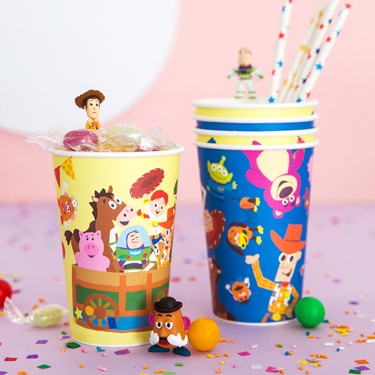 디즈니 캐릭터 종이컵 모음