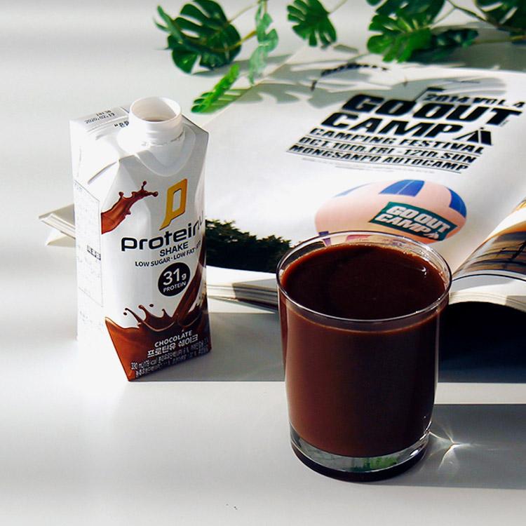프로틴유 쉐이크 (1Box 12개입) RTD 단백질쉐이크