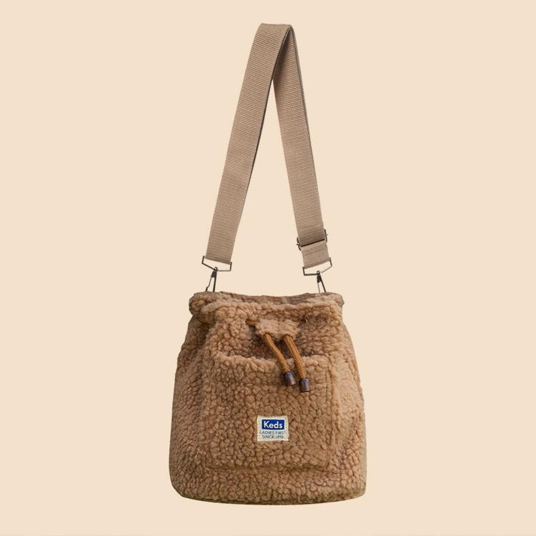 [12/9 예약발송] BUCKET BAG FLEECE (버킷백 플리스) (SB100042)