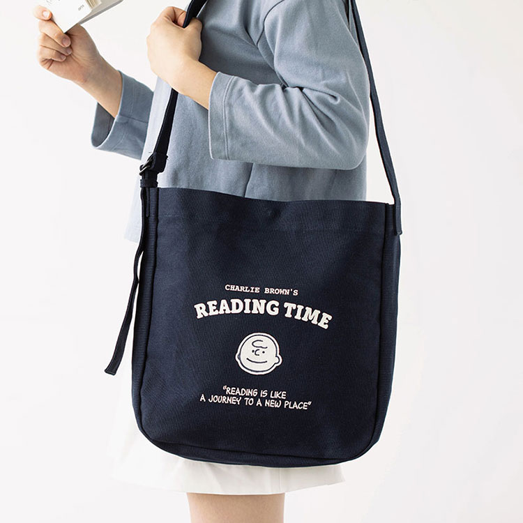 [Peanuts] TIME 에코백_찰리